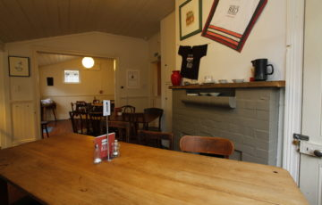 Gather around a table to meet or enjoy lunch in our secluded cottage away from the crowds